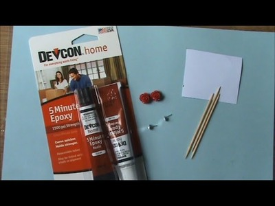 How To: Use Devcon 5 Minute Epoxy Glue