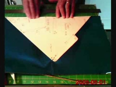 Part 2 of 5-Making an American Style Fighter Kite