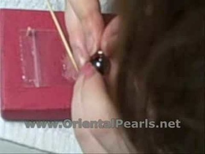 Pearl Studs Earrings - How to a Pair in 5 Minutes?