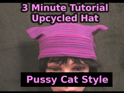 Sew Hat with Ears Tutorial