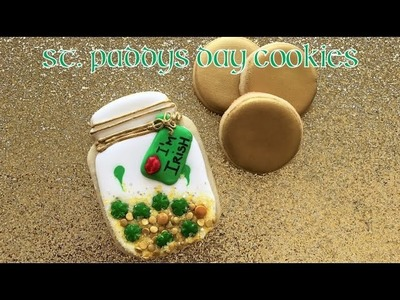 St. Patrick's Mason Jar Cookie