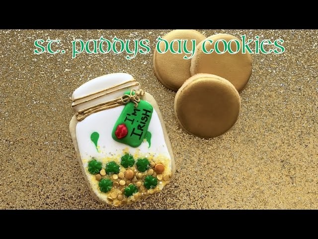 St. Patrick's Mason Jar Cookie