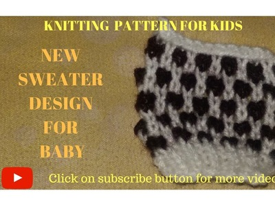 Sweater Bunai | Sweater Designs | Baby Designs | Knit Designs for Baby or Kids