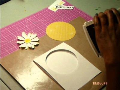 Tattered Daisy Card - TUTORIAL