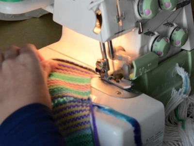 Tote bag weave along, off the loom and wet washing
