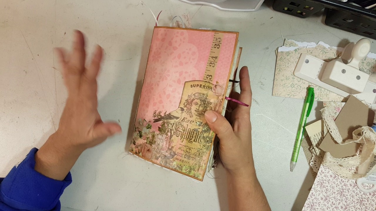 Tutorial on how I make my junk journals Part 4