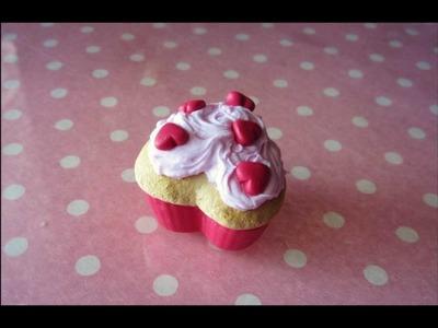 ♥Valentine Heart Cupcake - Cupcake a Cuore♥