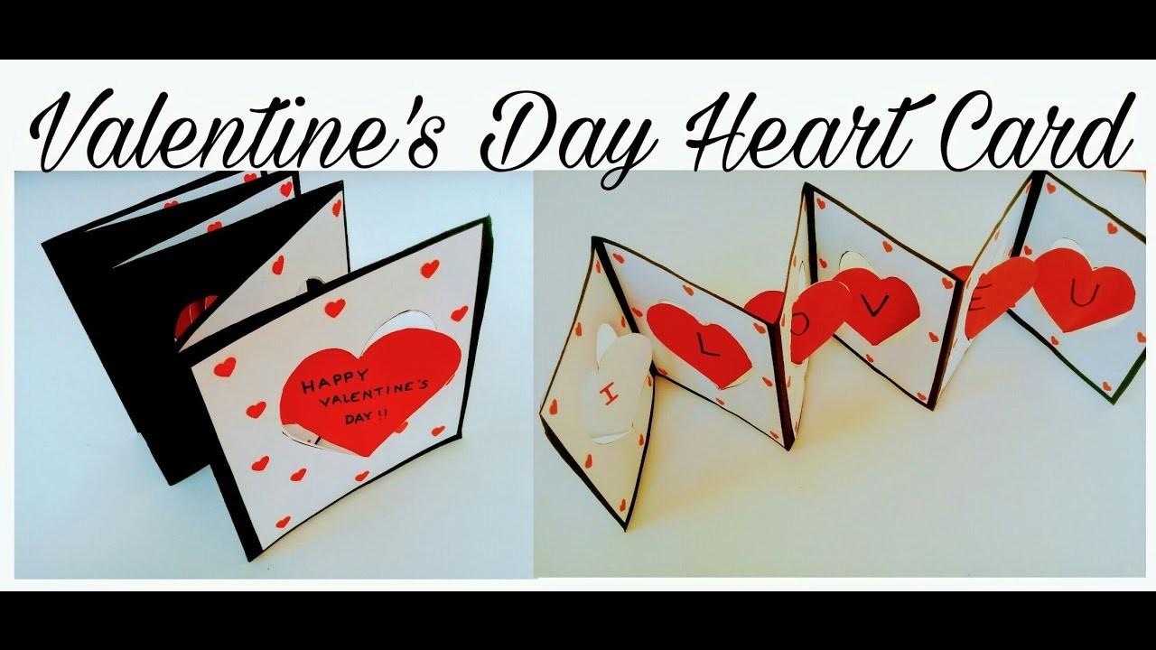 Valentine's Day Heart Card | Gift Idea