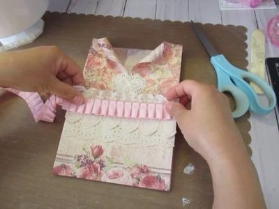 Valentine Series Episode 19: Loaded Envelope Swap (part 2) Decorating