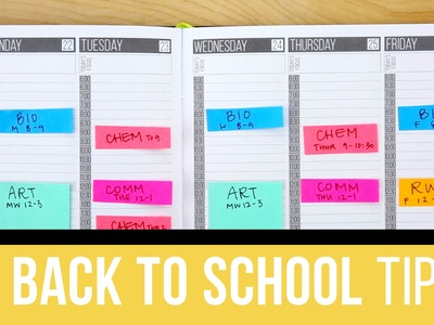 3 Back to School Planner Tips ????✏️