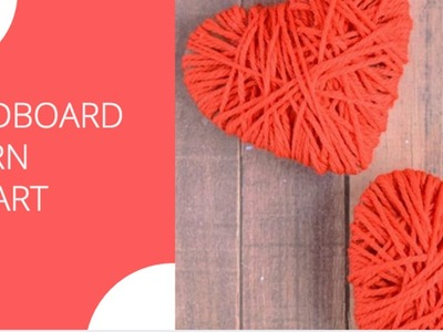 3 different heart gifts made using yarn | Valentine's day gift 2017| Yarn crafts