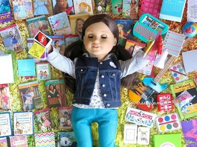 American Girl Doll School Supplies Haul