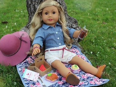 American Girl Doll Tenney's Picnic Set Review