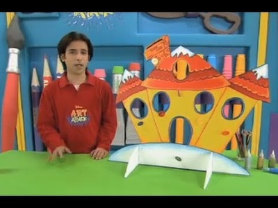Art Attack - How To Make Your Own Christmas Home - Disney India (Official)