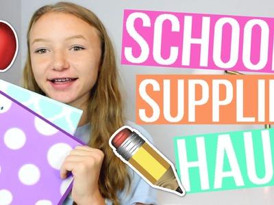 Back to School Supplies Haul 2016-2017!