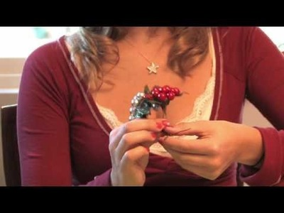 Christmas Crafts : How to Make Christmas Place Card Holders for the Table
