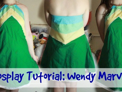Tutorial Cosplay Tutorial Fairy Tail Wendy Marvell Outfit 2