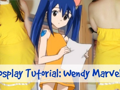 COSPLAY TUTORIAL | Fairy Tail; Wendy Marvell | Outfit 4