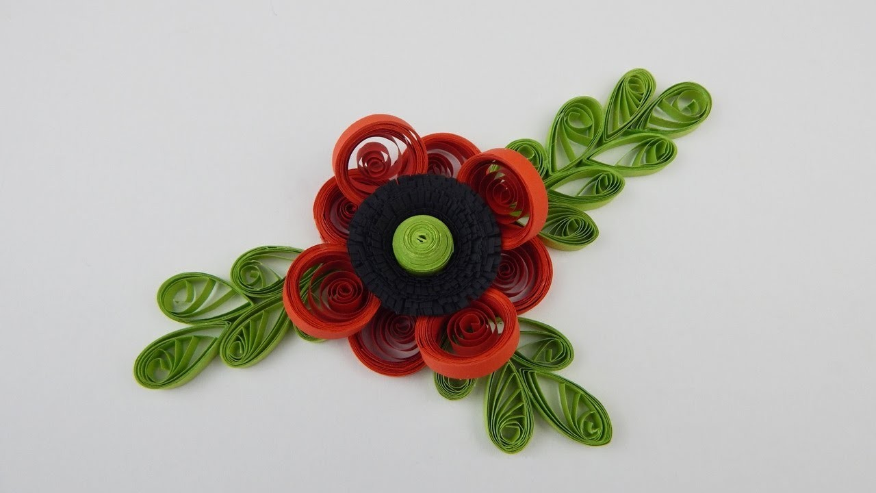Decoration quilling flower diy papercraft table deco wall for Decoration quilling