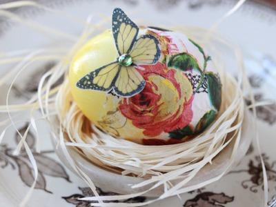 Decoupage Easter Eggs (Plus, a Natural Dye 101)