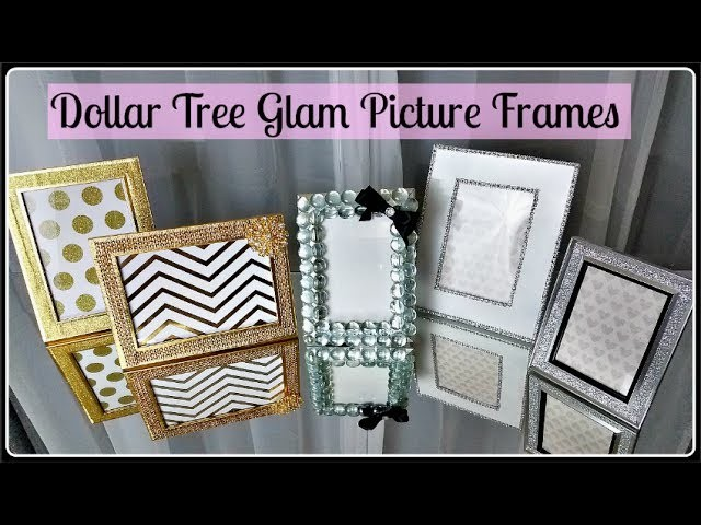 DIY Dupe   Z Gallerie & Kate Spade w. DOLLAR TREE items & Totally Dazzled   Glam Home Decor Craft