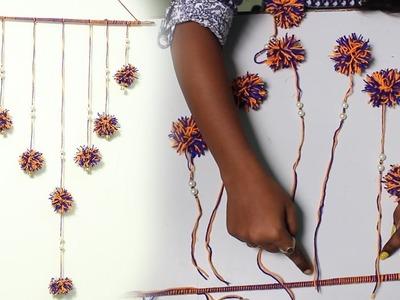 DIY Easy Wall Hanging with Woolen Thread - DIY Crafts
