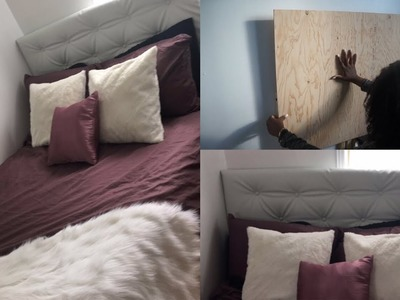 DIY | How To Make Your Own Tufted Headboard. Ikea Bed Hack | Shama Mj