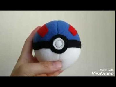 DIY Pokéball Plush -Great Ball