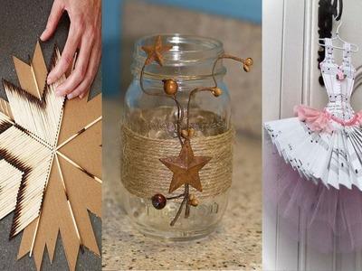 DIY ROOM DECOR! 18 Easy Crafts Ideas at Home