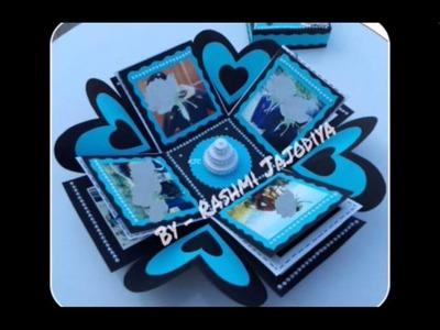 Explosion Box for Birthday Boy. Exploding Box | by Rashmi Jajodiya