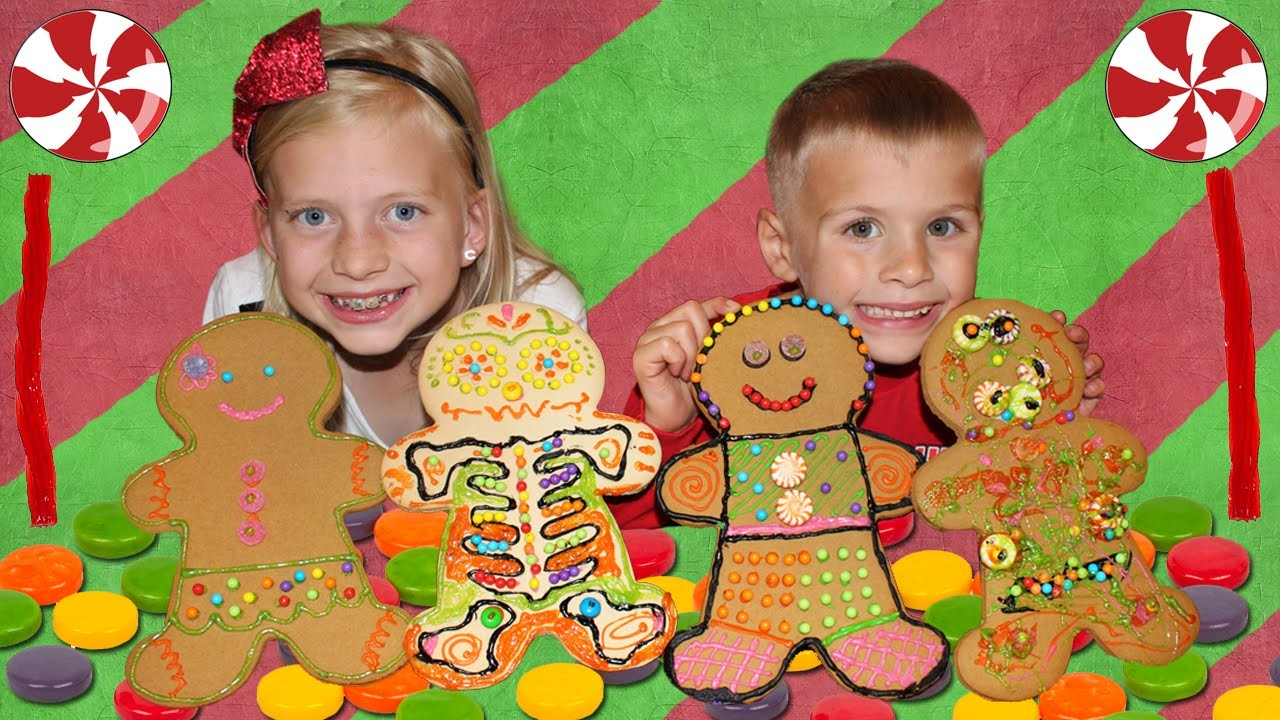 Giant Gingerbread Men!