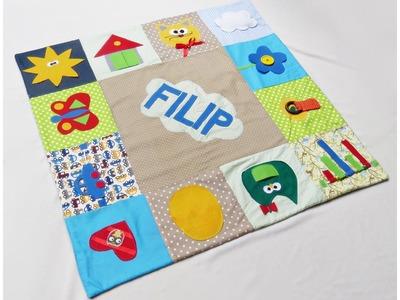 Handmade baby play mat | Owlipop.com