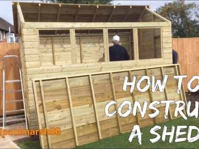 How to Construct a Shed