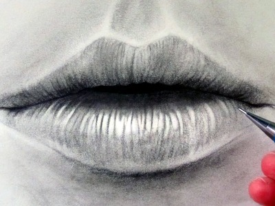 How to draw a Realistic Mouth & Lips