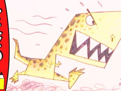 How To Draw A T-Rex   Art Ideas For Kids   Øistein Kristiansen