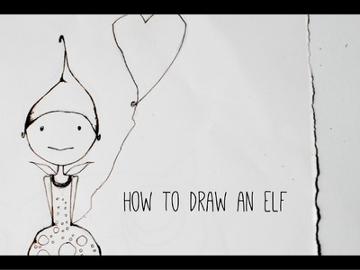 How to draw an elf: Wendy - drawing tutorial