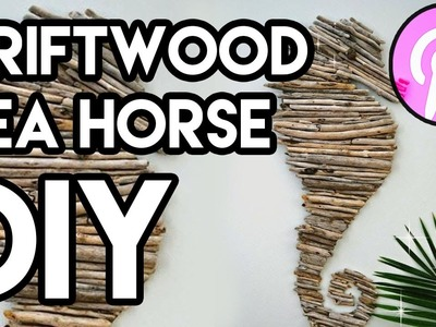 How To Make A Driftwood Sea Horse (Pin#9)