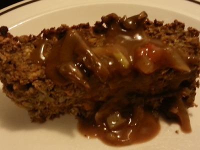 How to make a Lentil Loaf (meatless meatloaf.vegan recipe!)