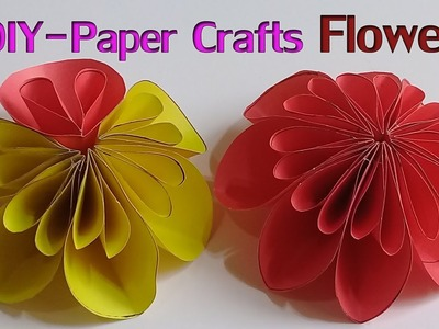 How to Make a Paper Flowers | Easy Origami Flowers for Beginners Making❤❤❤