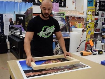 How to make a Photo Canvas Print