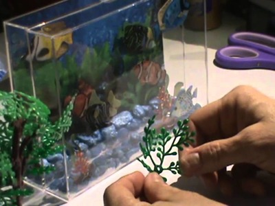 "How To Make an ""Easy"" Aquarium for your AG Dollhouse"