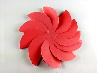 How to make Beautiful paper flowers easy |DIY Valentine's Day craft | Origami Beautiful Flower