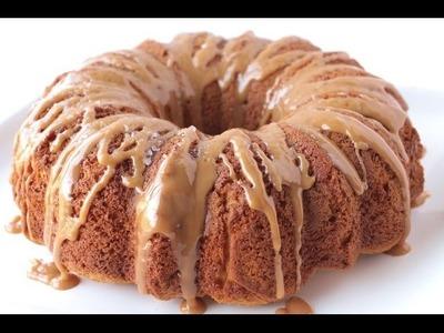 How To Make Salted Caramel Bundt Cake | Simply Bakings
