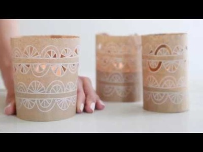How to make simple luminaries