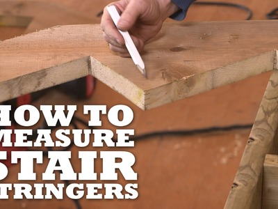 How to Measure Stair Stringers