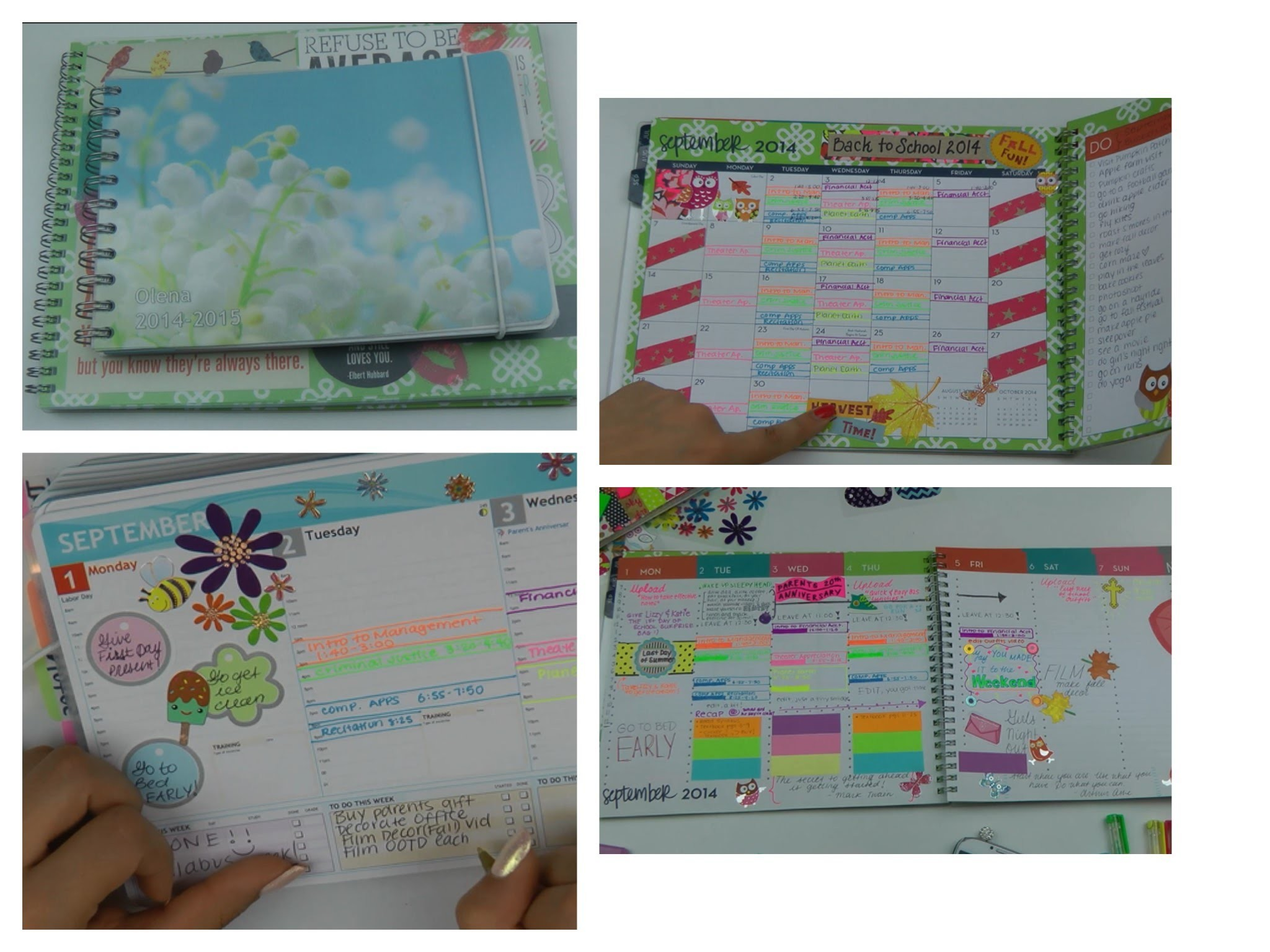 ♥How to Organize & Decorate Your PLANNER♥  and a Giveaway