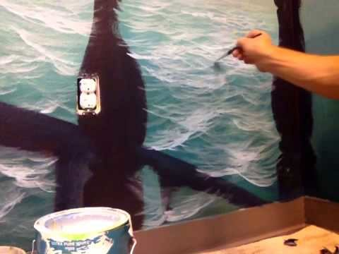 How To Paint Ocean Water pt 2 of 2
