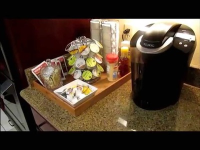 How to set up home coffee station