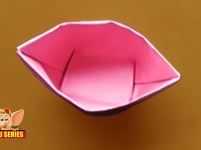 Origami - Learn to make a Drinking Cup (HD)