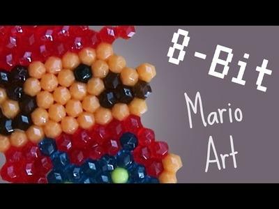 PIXEL 8 BIT MARIO ART | AQUA BEADS REVIEW?